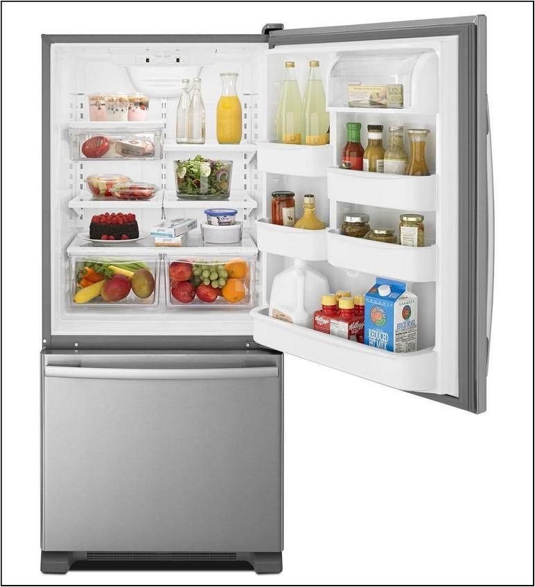 18 Cubic Feet Refrigerator Bottom Freezer