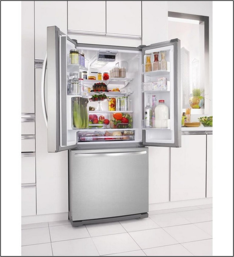 30 Inch Wide Counter Depth Refrigerator With Ice Maker