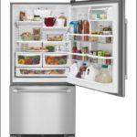 30 Width Refrigerator Bottom Freezer