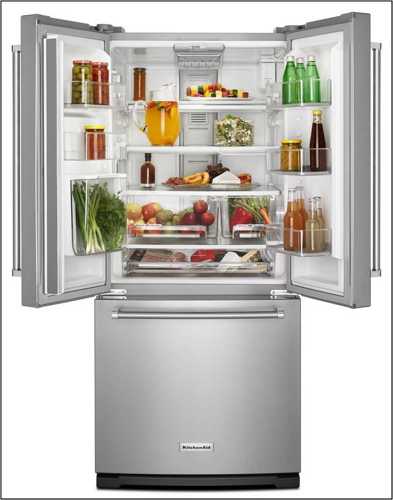 30 Width Refrigerator In Stainless Steel