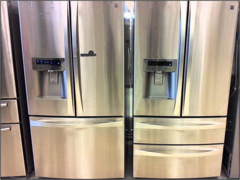 33 Inch Counter Depth Refrigerator