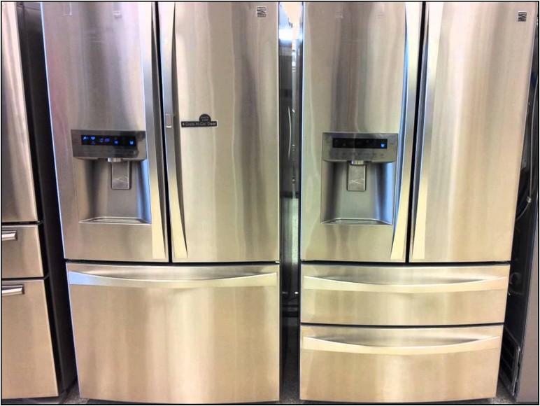 35 Inch Wide Refrigerator
