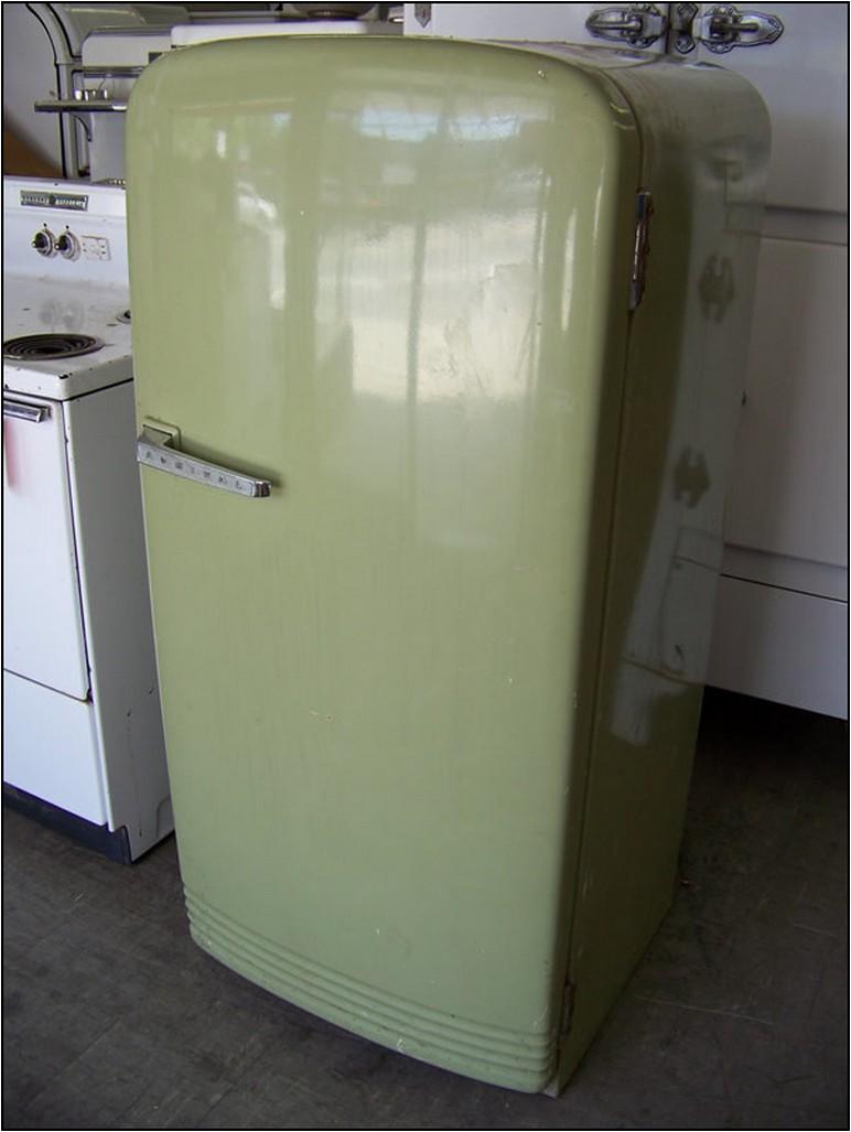 Antique Refrigerator For Sale