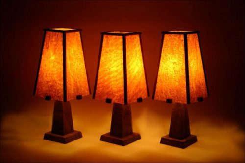 Arts And Craft Style Lamps