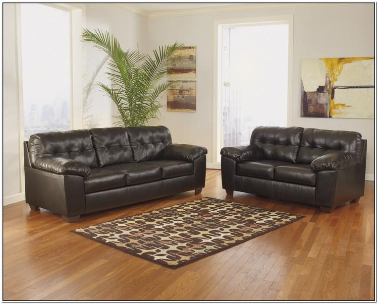Ashley Furniture Store Leather Sofa