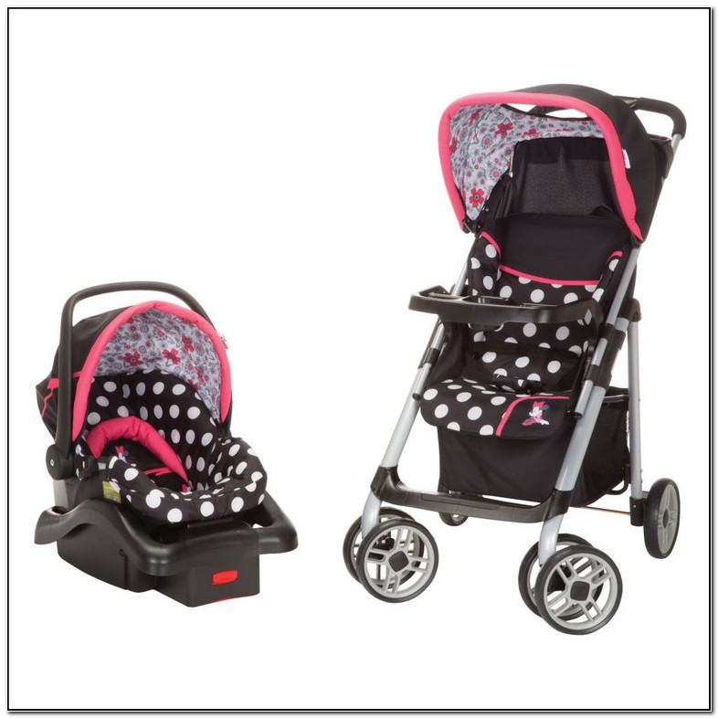 Baby Girl Carseat And Stroller Sets
