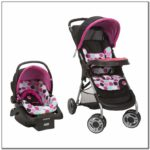 Baby Girl Stroller And Carseat Combo
