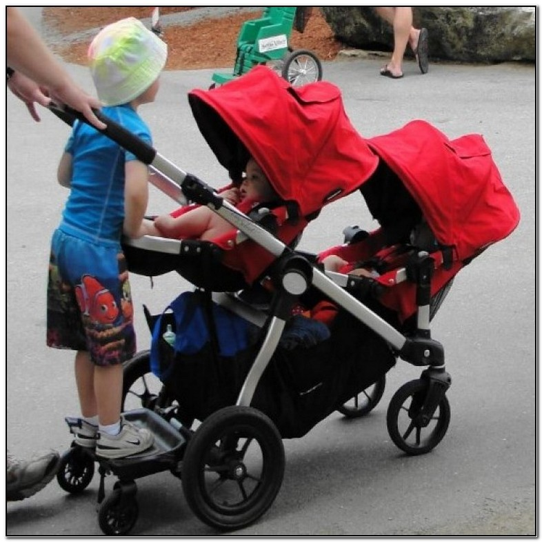 Baby Jogger City Select Double Stroller Used