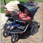 Baby Trend Double Jogging Stroller For Infant And Toddler