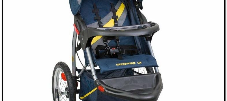 Baby Trend Expedition Double Jogging Stroller With Mp3 Input