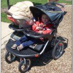 Baby Trend Navigator Double Jogging Stroller Car Seat