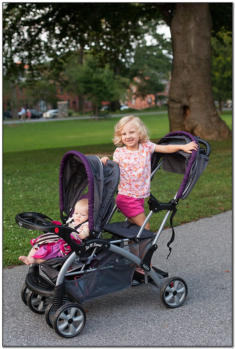 Baby Trend Sit And Stand Double Stroller Elixer