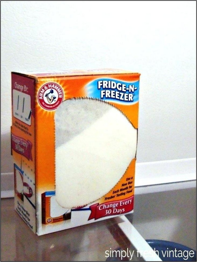 Baking Soda Refrigerator Container