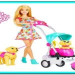 Barbie Walking Dog Stroller