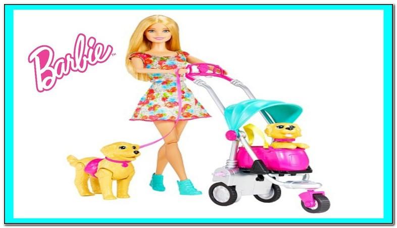 Barbie Walking Dog Stroller