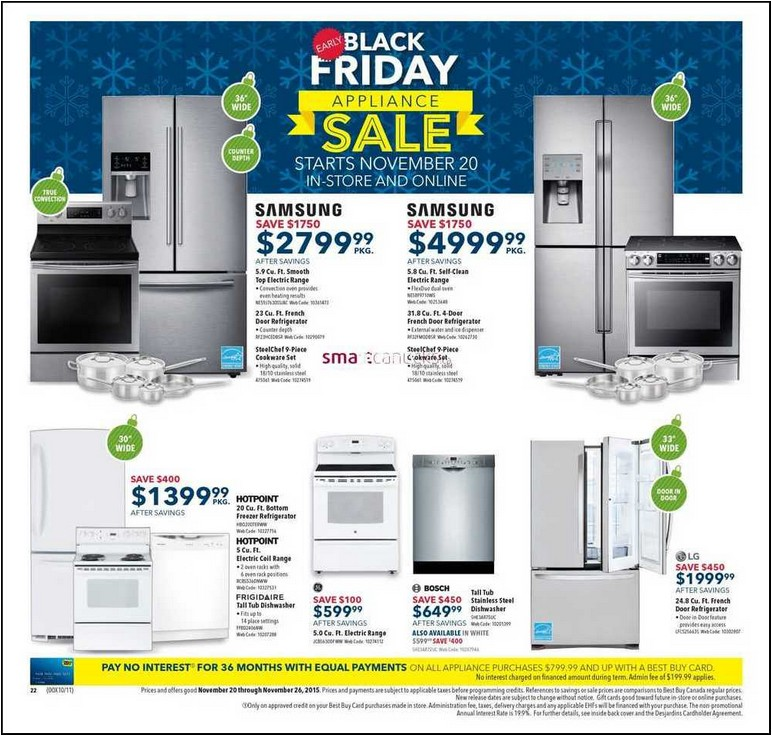 Best Refrigerator Sales Black Friday