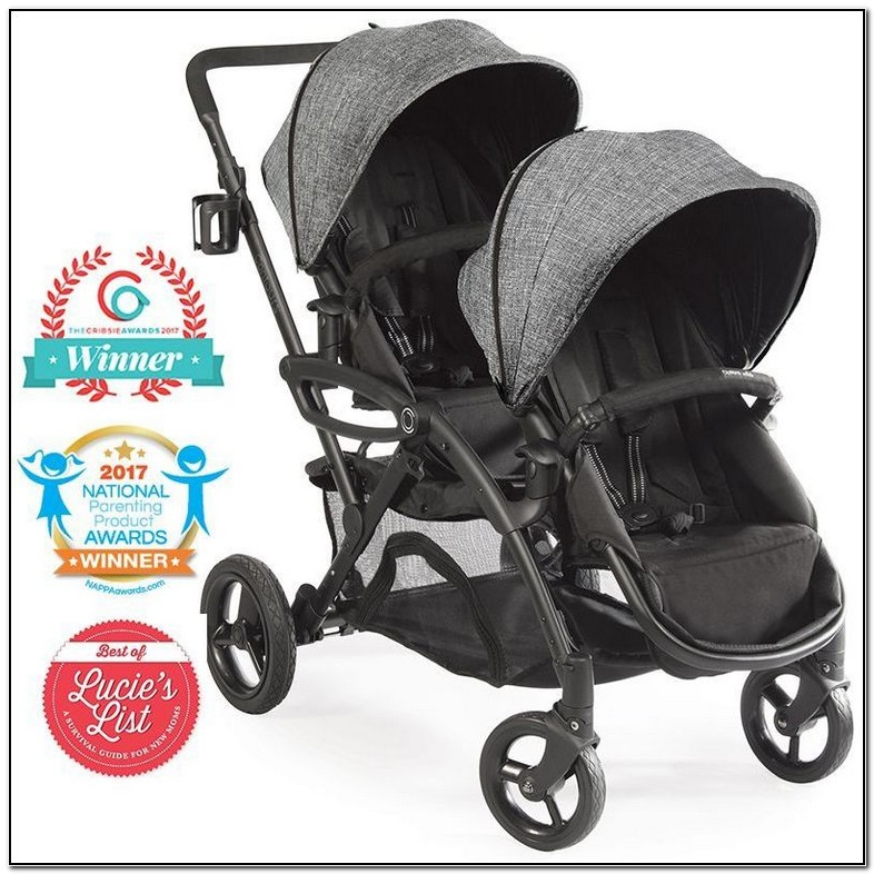 best tandem double stroller for infant and toddler