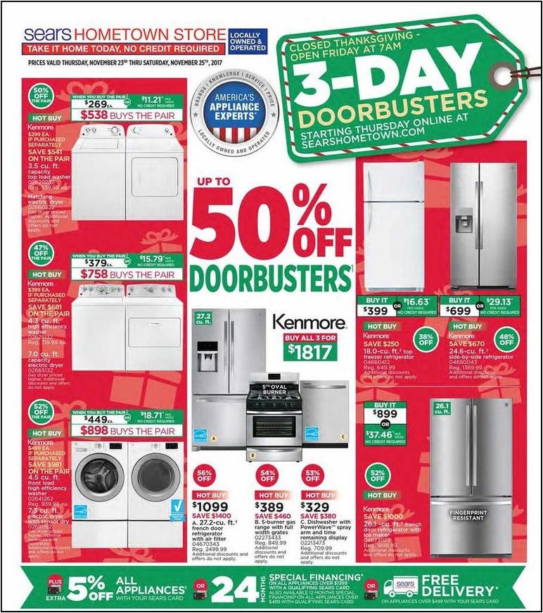 Black Friday Refrigerator Deals 2017