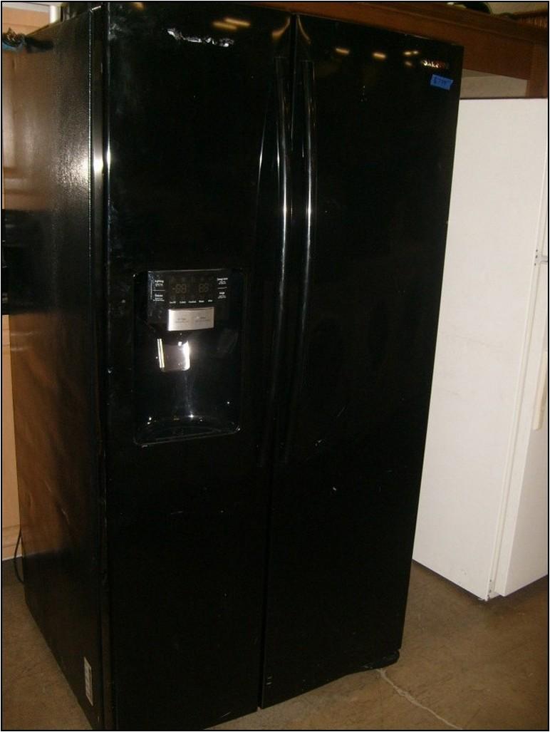 Black Side By Side Refrigerator For Sale