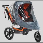 Bob Double Jogging Stroller Rain Cover