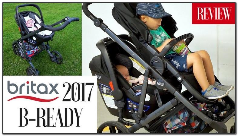 Britax B Ready Double Stroller 2017