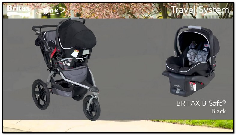 Britax Stroller And Carseat Combo