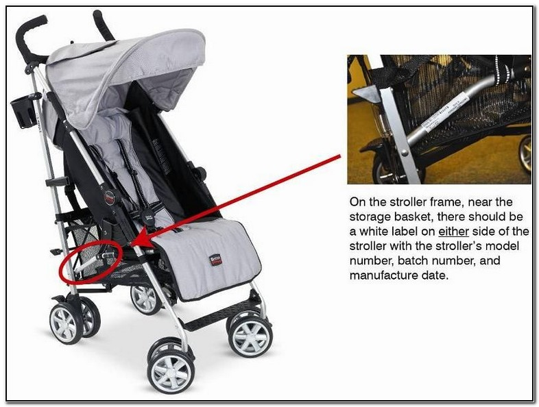 Britax Stroller Recall Instructions