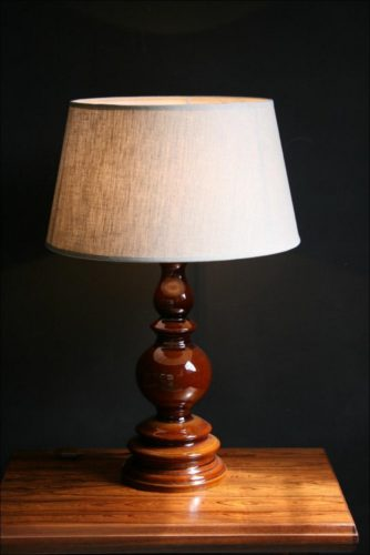 Brown Lamp Base