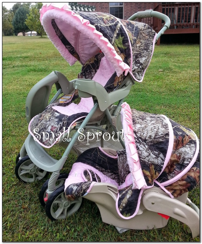 Camo Baby Stroller And Carseat Combo