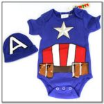 Captain Marvel Baby Clothes