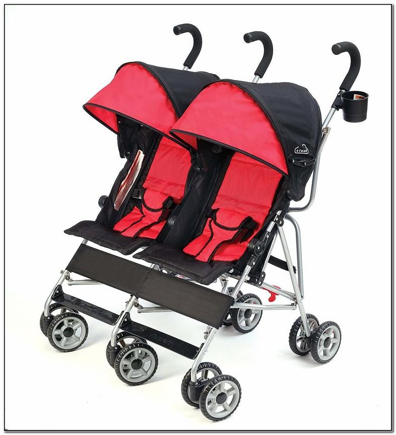 Cheap Lightweight Double Umbrella Stroller