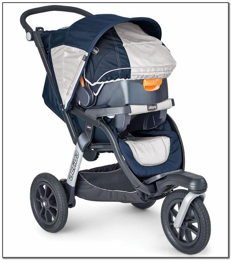 Chicco Activ3 Jogging Stroller Travel System