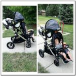 City Select Double Stroller Car Seat Adapter