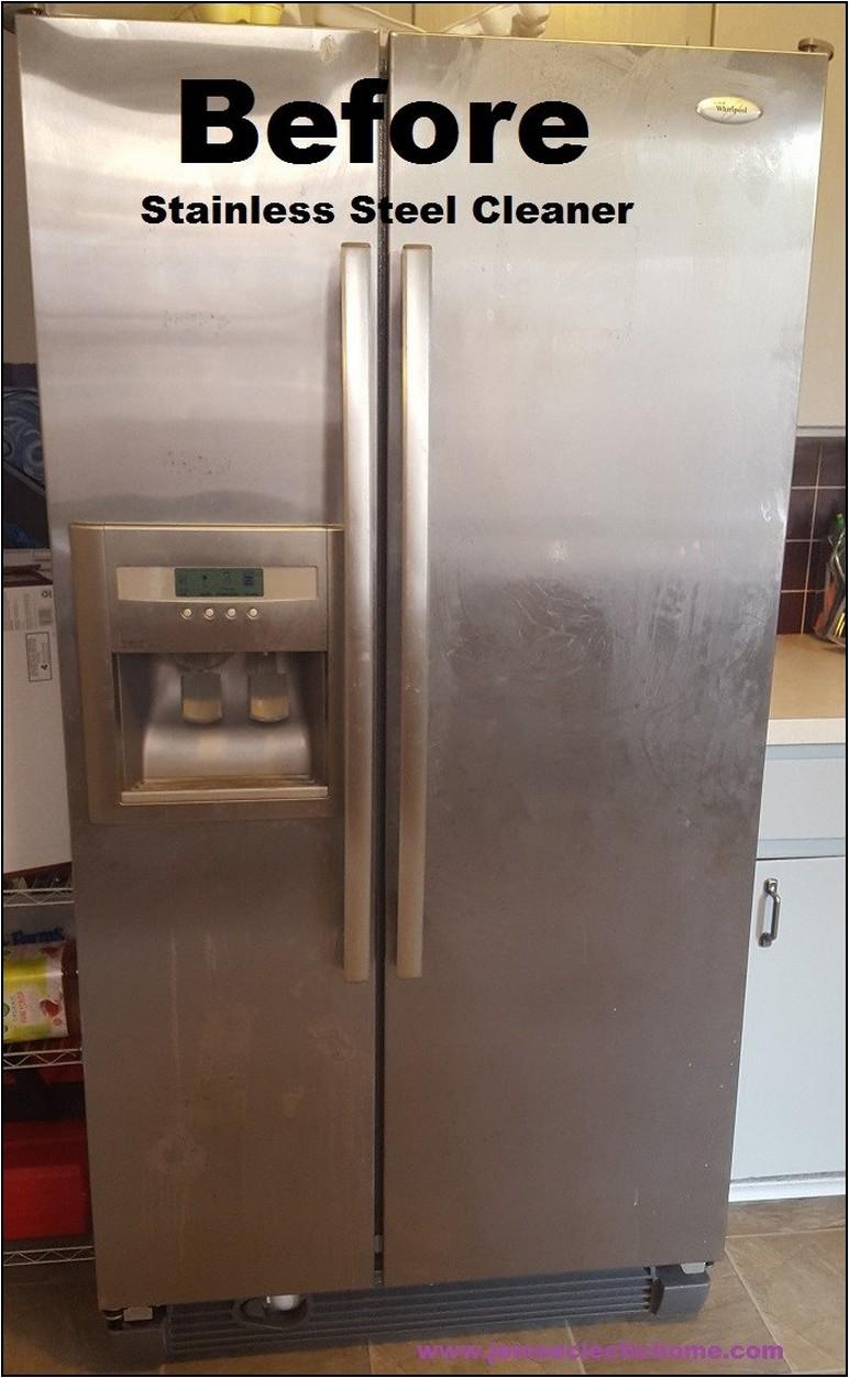 Cleaning Stainless Steel Refrigerator Streaks