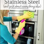 Cleaning Stainless Steel Refrigerator With Vinegar
