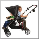 Compact Double Stroller For Infant And Toddler