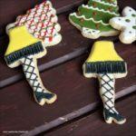 Decorating Leg Lamp Cookies