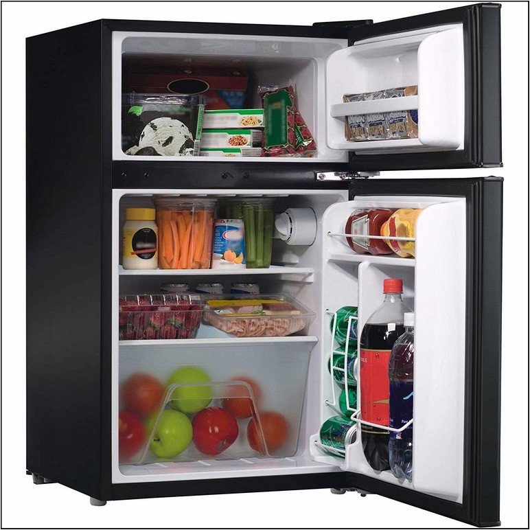 Dorm Size Refrigerator With Separate Freezer