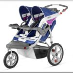 Double Jogging Stroller Compatible With Graco Car Seat