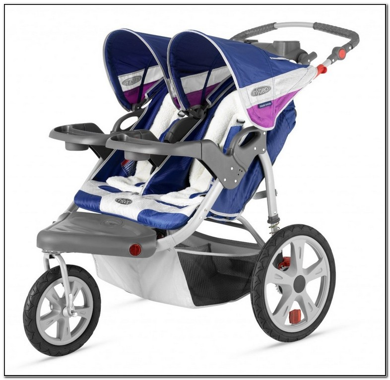 Double Jogging Stroller Graco Car Seat