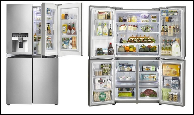 Extra Large Refrigerators French Door