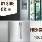 French Door Bottom Freezer Refrigerator Vs Side By Side