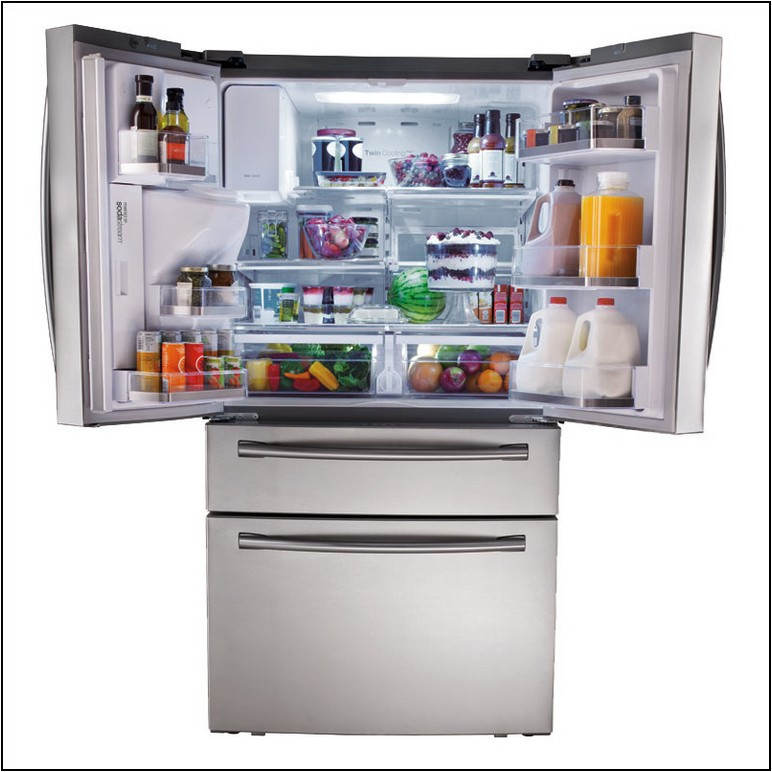 French Door Refrigerator With Sodastream