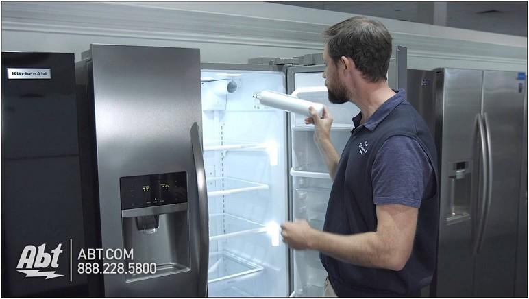 Frigidaire Gallery Refrigerator Water Filter Reset