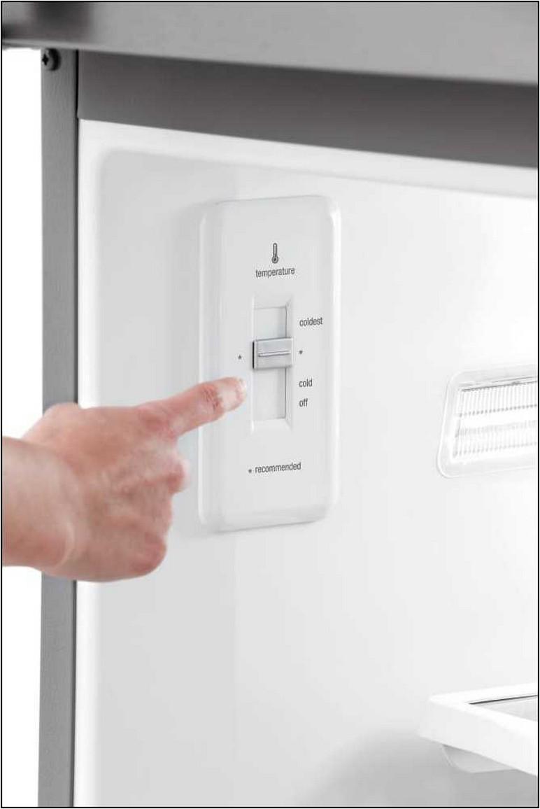 Frigidaire Small Refrigerator Temperature Settings
