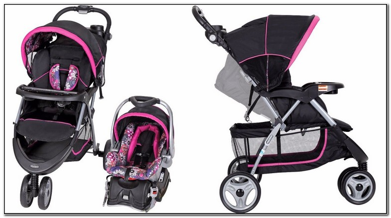 Girl Stroller And Carseat