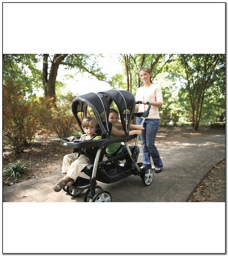 Graco Ready To Grow Double Stroller Positions