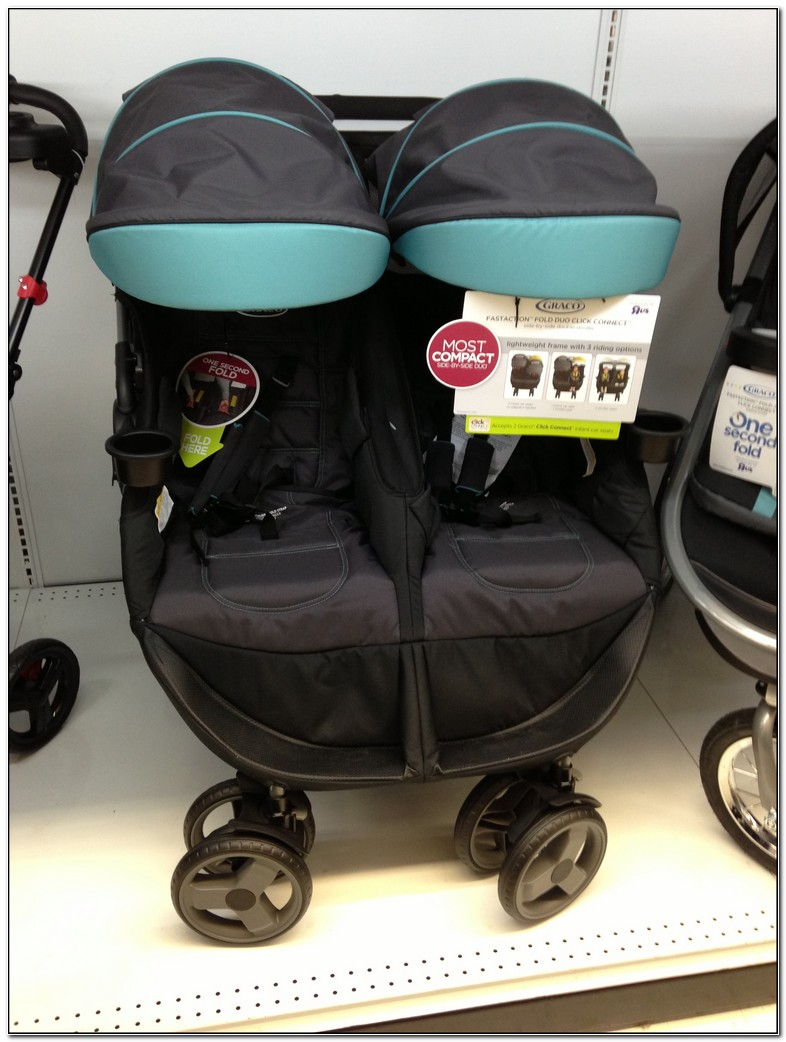 Graco Side By Side Double Stroller | Design innovation