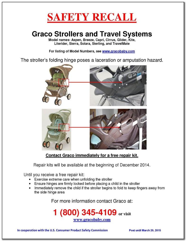 Graco Stroller Recall 2016