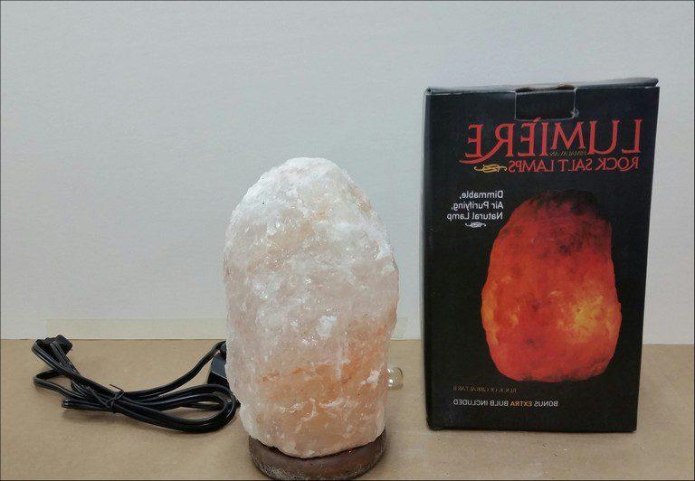 Himalayan Sea Salt Lamp Recall